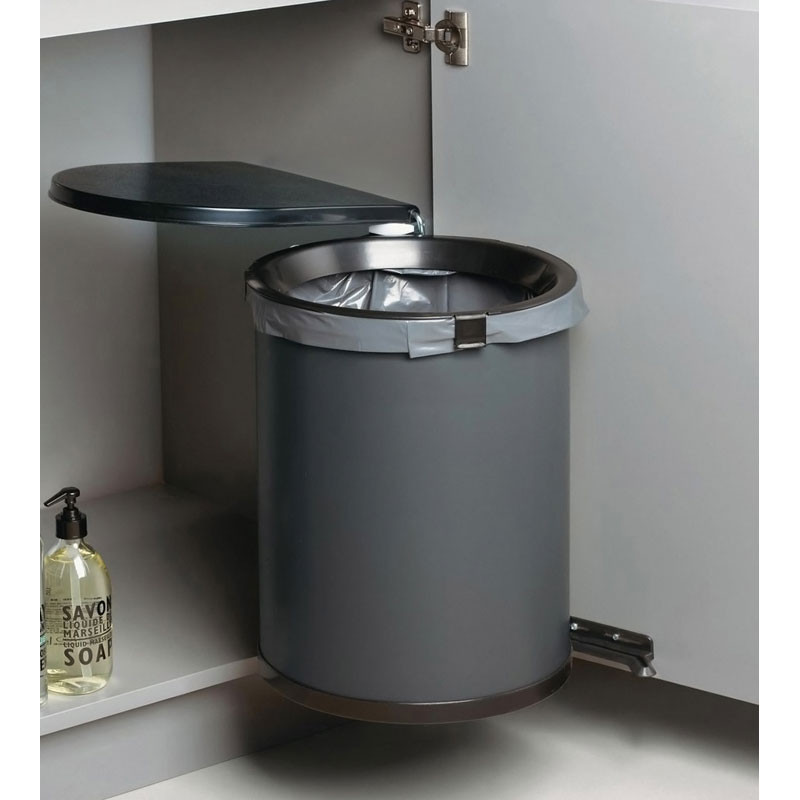 poubelle pivotante ouverture automatique 30l wesco. Black Bedroom Furniture Sets. Home Design Ideas