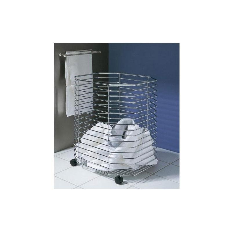panier linge sur roulettes kessebohmer quincaillerie. Black Bedroom Furniture Sets. Home Design Ideas