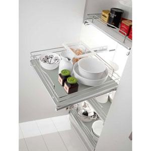 panier coulissant quincaillerie qama. Black Bedroom Furniture Sets. Home Design Ideas