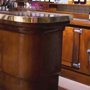 Bar froid quincaillerie qama for Meuble comptoir bar professionnel